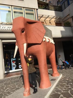 Elefante di Michetti