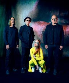 Gruppo musicale Garbage per Villa Ada incontra il mondo 2019