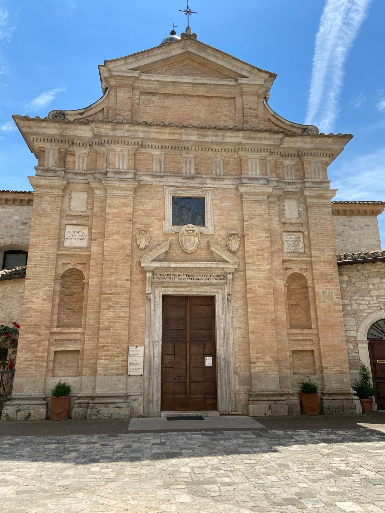Santuario di Chiesa Nuova assisi