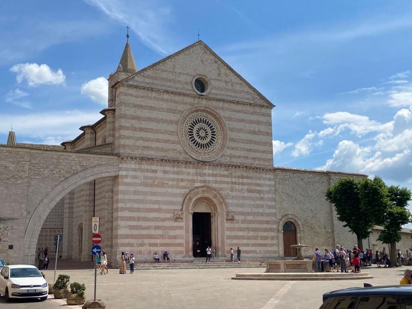 Santuario di Santa Chiara assisi