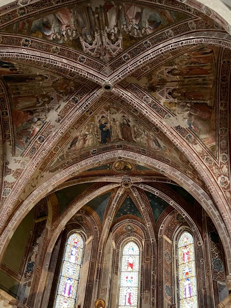 Volta del Santuario di Santa Chiara assisi