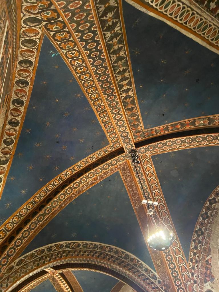 Volta Basilica di San Francesco d'Assisi particolare