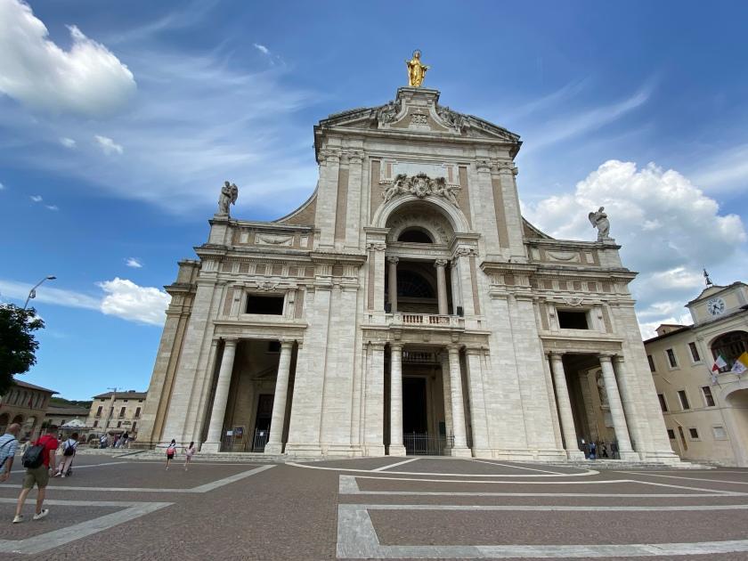 Santa Maria degli Angeli in Porziuncola assisi
