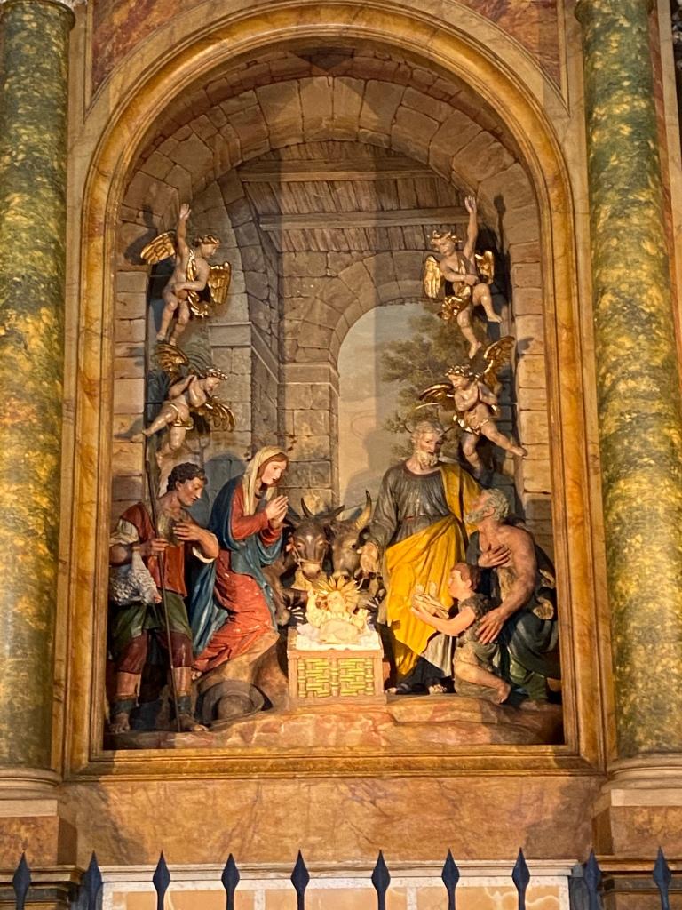 Presepe Santa Maria degli Angeli in Porziuncola assisi